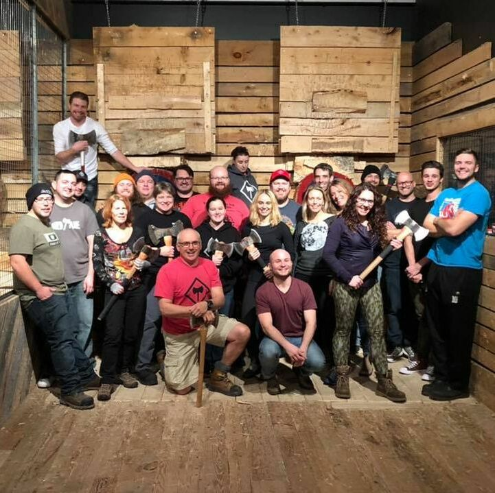 Urban Axe Throwing Halifax Nova Scotia